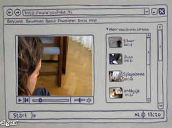 ノートがPCになったりコピー機になったり鏡になったりトースターになったりする動画