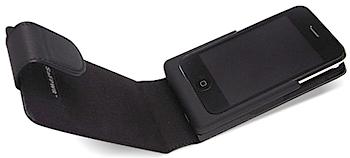 大容量バッテリー内蔵のiPhone用レザーケース「SaFPWR ePhone」