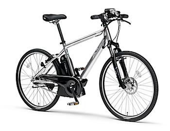 100km走れる電動アシスト自転車「PAS Brace-L」