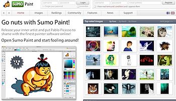 ツールが充実しているオンライン画像編集サイト「SUMO Paint」
