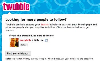 友だちの友だちは皆友だち的な感じでTwitterのフォローを増やす「Twubble」