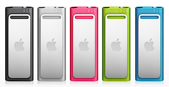 「iPod Shuffle」値下げして5,800円から