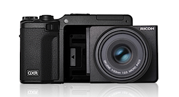リコー「GXR」ユニット交換式カメラ