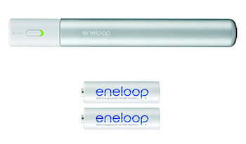 iPhoneを充電可能な「eneloop stick booster」カコイイ!