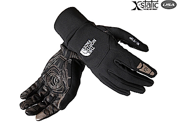 iPhoneを操作できる手袋「Etip Glove」(ノースフェイス)