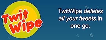 過去のつぶやきを全て削除してくれる「TwitWipe」