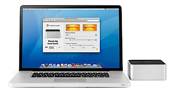 「BassJump」MacBook用サブウーファー