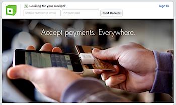 「Square」iPhoneでクレジット決済を可能に