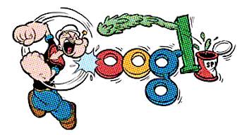 Googleロゴ「エルジー クライスラー シーガー」に