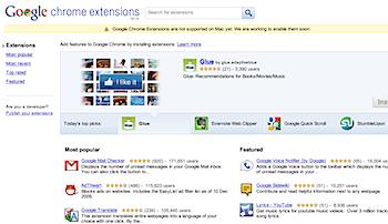 「Google Chrome」機能拡張は既に300種類以上→開発が簡単!?