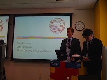 Google副社長デビッド・フィシャーが語る「オンライン広告ビジネスの現状と方向性」
