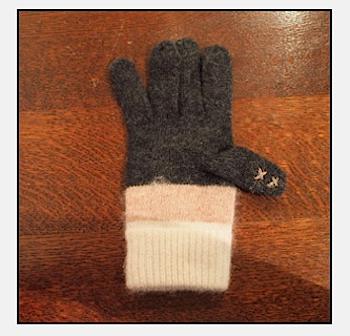 導電糸を使ってiPhone対応手袋を作る方法