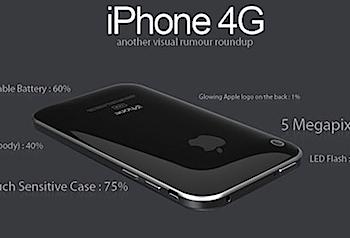 「iPhone 4G」に関する噂を画像化すると‥‥?