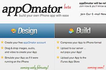 iPhoneアプリを開発するMac用ソフト「appOmator」