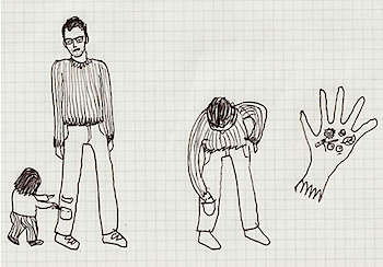 子供と両親のためのズボン