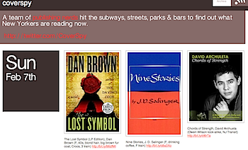 出版オタクがニューヨークで読まれている本を切り取る「coverspy」