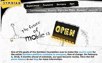 「Symbian OS」がオープンソースに