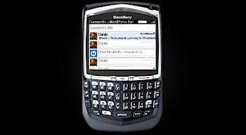 ブログエディタ「WordPress for BlackBerry」リリース