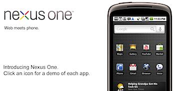 Google「Nexus One」販売台数は80,000台に留まる