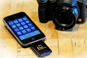 iPhone用SDカードリーダが発売へ