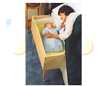 赤ちゃん添い寝用ベッド「Baby Bunk」
