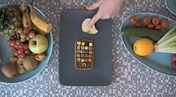 「iSandwich 4G」iPhoneみたいなサンドイッチの作り方