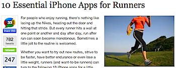 ランナー必見!? ランナーのためのiPhoneアプリ10