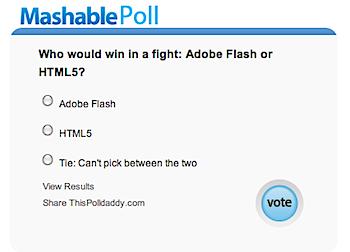 FlashとHTML5、勝つのはDOTCH?