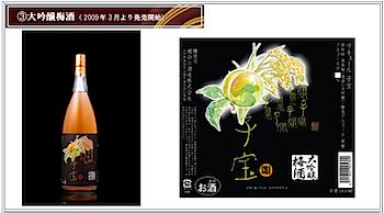 楯野川酒造「子宝大吟醸梅酒」梅酒日本一に!