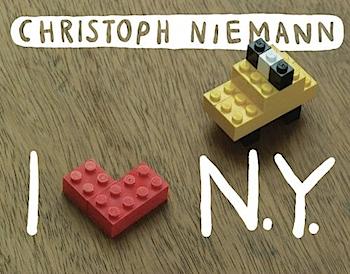 ニューヨークをレゴしてみる「I LEGO N.Y.」