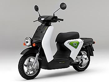 ホンダの電動スクーター「EV-neo(イーブイ・ネオ)」