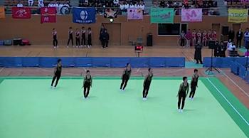 男子新体操・鹿児島実業の動画
