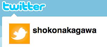 中川翔子、ツイッターを始める