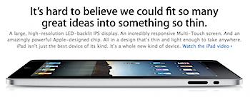 「iPad」一人当たりの購入は2台まで?
