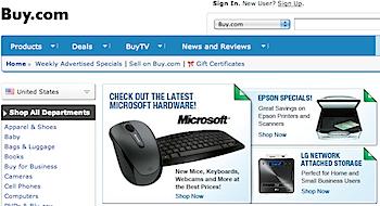 楽天「Buy.com」買収へ