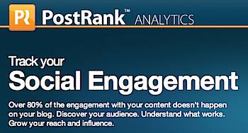 「PostRank」ソーシャルメディアからブログ記事をリアルタイムに評価