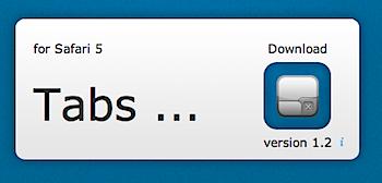 開いていたタブを再現したり複製できるSafari機能拡張「Tabs...」
