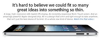 「iPad」発売後80日間で300万台を販売