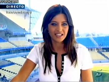 Sara Carbonero、世界で最もセクシーなスポーツリポーター