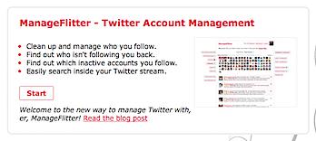 ツイッターのフォロー/フォロワーを管理する「ManageFilter」
