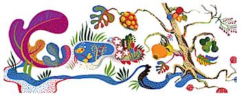 Googleロゴ「Josef Frank(ヨゼフ・フランク)」に