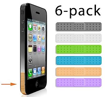アンテナ問題を改善する「iPhone 4」用バンドエイド