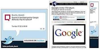 「Twitter Ad」Google AdSenseにツイッターのツイートを表示
