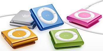 「iPod shuffle」クリックボタン復活、価格は4,800円