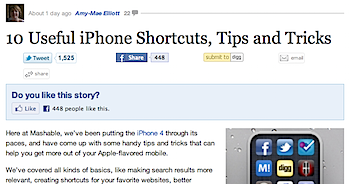 iPhoneの便利な10のTips