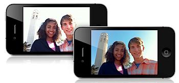 iOS 4.1「HDR写真」を試してみた