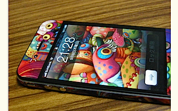 iPhone 4「GelaSkins」のシールカスタマイズがカッチョエエ!