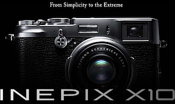 APS-Cセンサー搭載「FinePix X100」