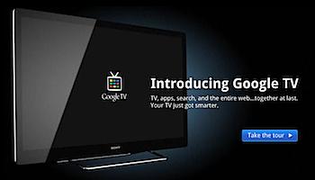 「Google TV」を紹介するページが公開される
