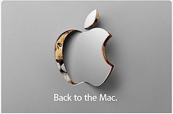 Apple、スペシャルイベント「Back to the Mac」10月20日に開催